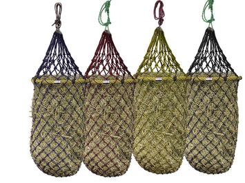 "Derby Originals Quik-Fil™ 48"" Patent Pending Slow Feed Poly Rope Hanging Hay Net with 2x2"" Holes"