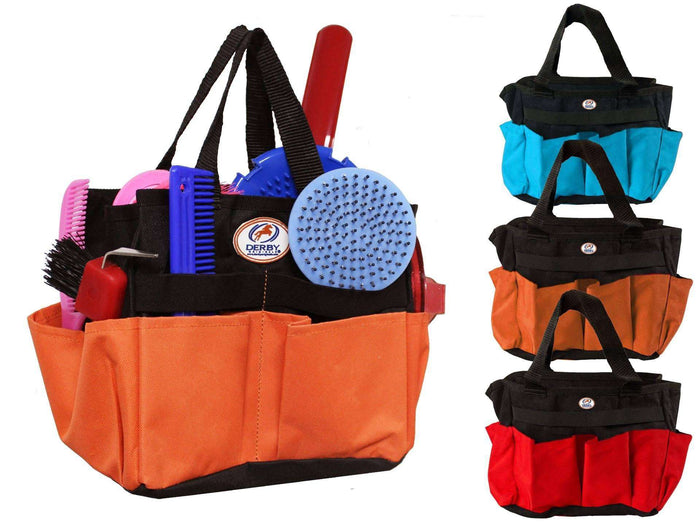 Nylon Horse / Dog Multi Pocket Grooming Tote Bag - Tack Wholesale
