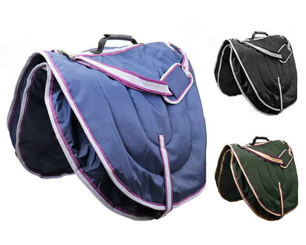 Derby Originals Waterproof All Purpose 3 Layer Nylon Padded English Saddle Carry Bag