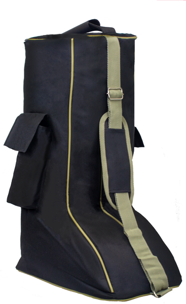 Derby Originals 600D Nylon Padded Tall English Riding Boot Carry Bag - Available in Multiple Colors
