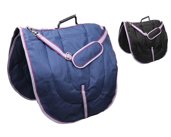 Waterproof English Dressage Saddle Carry Bags 3 Layers Padded by Derby