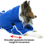 Derby Originals Ultra Flex Plush Microfiber Dog Bathrobe