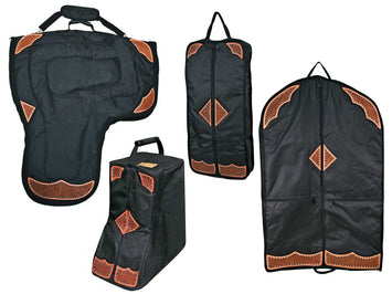 Durango Western Tack Carry Bags 4 Item Set