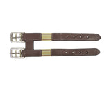 Paris Tack English Leather Elastic Girth Extender, Available in Multiple Colors