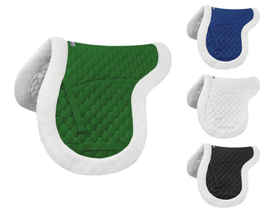Derby Originals Fleece Padded Contour All Purpose English Saddle Pad