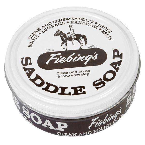 Fiebing's Saddle Soap Leather Conditioner and Cleaner - White 12 oz.