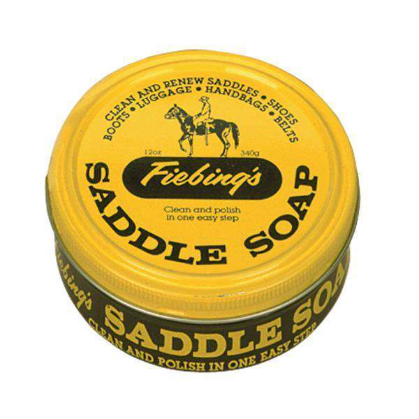 Fiebing's Saddle Soap Leather Conditioner and Cleaner - Natural 12 oz.