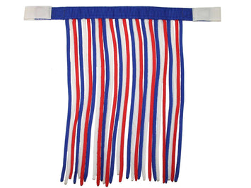 Derby Patriotic Horse Fly Veils / Fringes FLASH SALE! - Tack Wholesale