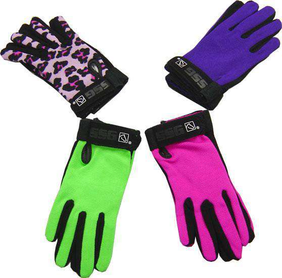 SSG All Weather Horse Riding Gloves - Tack Wholesale