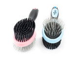 CuteNfuzzy Double Sided Pet Grooming Brush