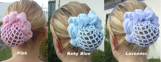 Hair Bun with Sparkling Crystals