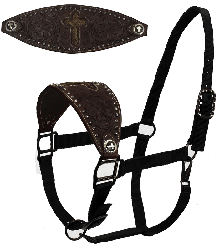 Tahoe Cross Hair On Nylon Bronc Halters