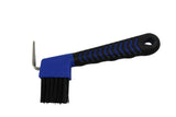 Derby Originals Soft Grip Horse Hoof Pick with Brush Available in Three Colors