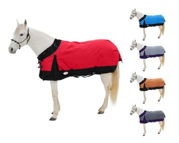Derby Originals Wind Storm 1200D Heavy Weight Waterproof Winter Horse Turnout Blanket 300g with 2 Year Warranty