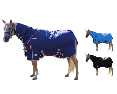 Derby Originals Extreme Elements 1200D Heavy Weight Waterproof Winter Horse Turnout Blanket 400g with 2 Year Warranty