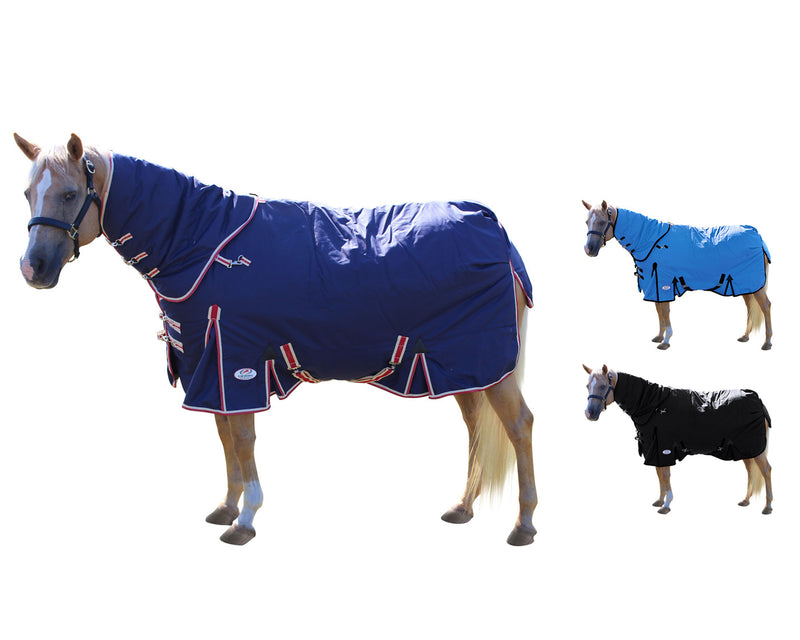 Derby Originals Extreme Elements Nordic-Tough 1200D Ripstop Waterproof Winter Heavyweight Horse Turnout Blankets with 300g Insulation and Two Year Warranty