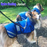 Cooling Jacket on Dogs