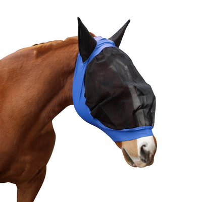 Derby Originals Economy Mesh Lycra Horse Fly Mask with Ears