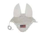 Paris Tack Patriotic Flag Crochet Fly Veils / Ear Nets