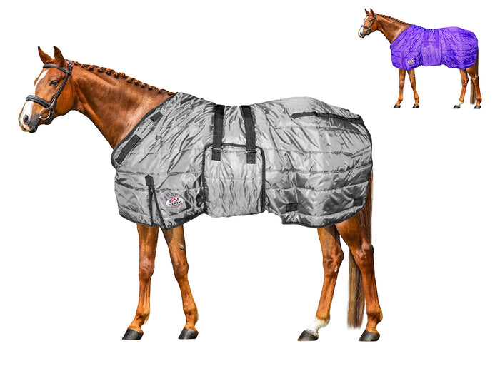 Derby Originals Wind Storm Closed Front 420D Medium Weight Water Resistant Horse Winter Stable Blanket 200g