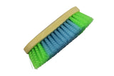 Derby Originals Large Dandy Brushes with Crinkled Multicolor Bristles