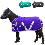 Derby Originals Nordic-Tough 1200D Heavy Weight Reflective Waterproof Winter Mini Horse Pony Turnout Blanket 300g with 2 Year Warranty