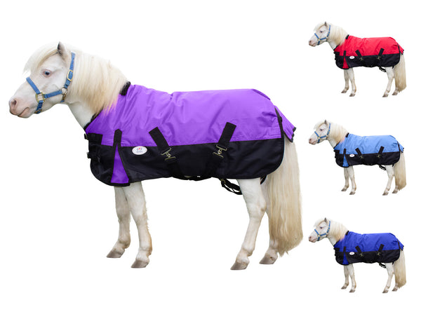 Derby Originals Classic 600D Medium Weight Waterproof Winter Mini Horse Pony Turnout Blanket 200g with 1 Year Warranty