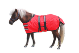 Derby Originals No Hardware 600D Medium Weight Reflective Waterproof Winter Foal Mini Horse Turnout Blanket 150g with 1 Year Warranty