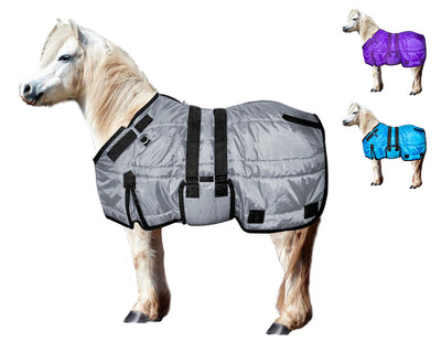 Derby Originals Wind Storm Closed Front 420D Medium Weight Winter Mini Horse Pony Stable Blanket 200g