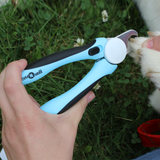 CuteNfuzzy Professional Heavy Duty Pet Nail Clipper with Nail File