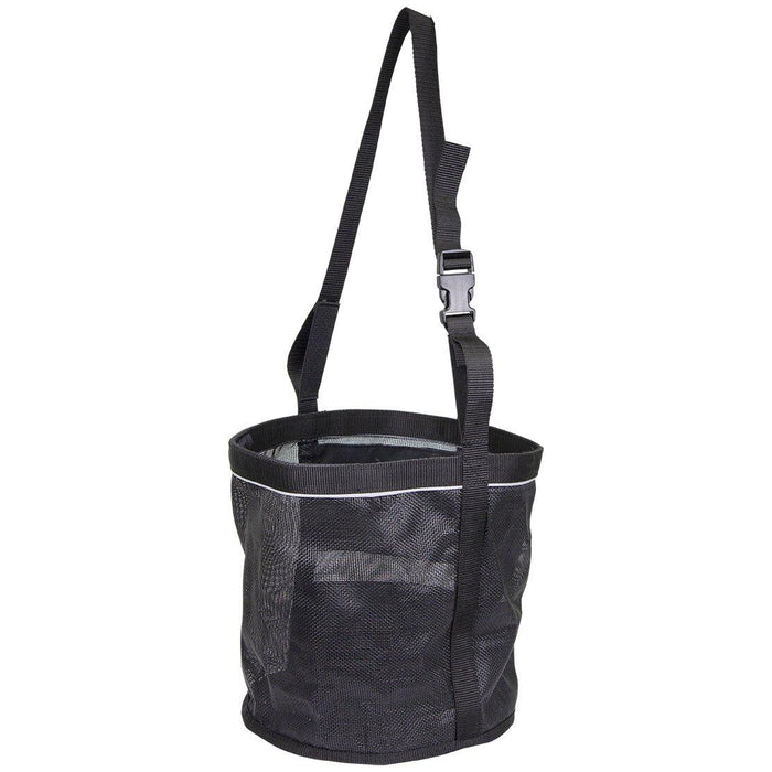 Derby Originals Heavy Duty PVC Mesh Reflective Feed Bag With Extra Comfort Noseband Padding No Waste Flap Design