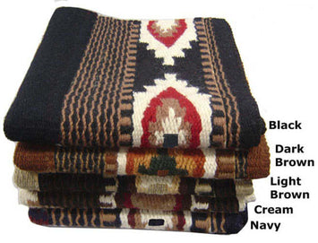 Tahoe Tack Mesa New Zealand Wool Western Saddle Blanket - Heavy Weight, 36