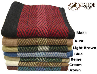 "Zee Bar Design New Zealand Wool Saddle Blanket 36"" X 34"""
