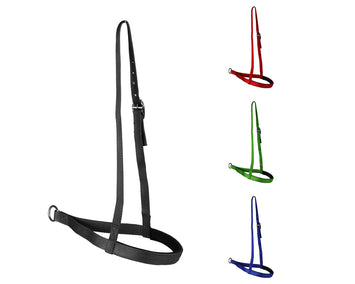Tahoe Tack Lightweight Padded Nylon Horse Tie Down Noseband - Features Premium Breathable Neoprene Padding