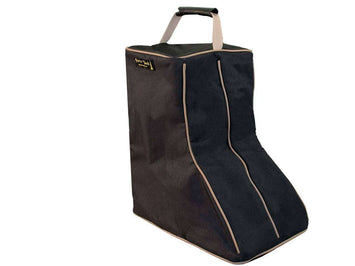 Back Open Western Boot Carry Bag 3 Layer Padded Paris Tack - Tack Wholesale