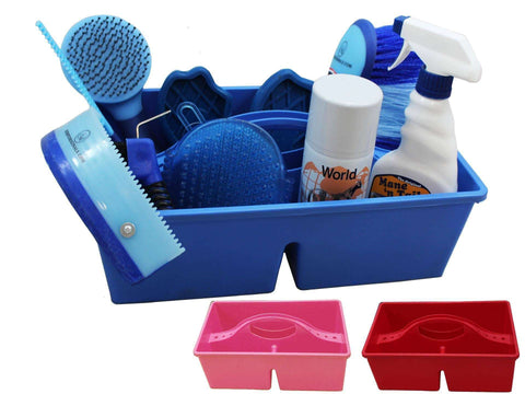Large Plastic Grooming Tote Caddy - Tack Wholesale