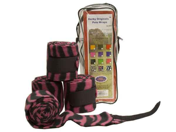 Animal Print Polo Wraps by Derby Originals - Tack Wholesale