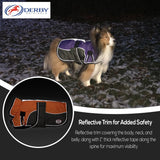 Reflective trim for additional safety