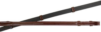 Premium Raised Leather Web Reins for English Bridles