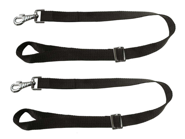 Replacement Adjustable Nylon Strap with Replaceable Snap for Slow Feed Hay Bags - Pair