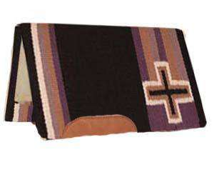 Mustang Western Apache Show Saddle Pad W/Fleece-CO - Tack Wholesale