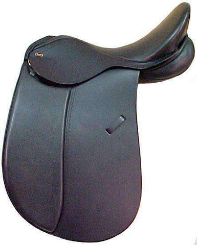 Supreme Dressage Saddle - Santa Cruz - Closeout - BARGAIN BIN
