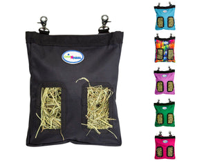 CuteNfuzzy Small Pet Small Hay Bag for Guinea Pigs and Rabbits with 6 Month Warranty 9x11x1.5