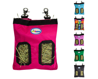 CuteNfuzzy Small Pet Small Hay Bag for Guinea Pigs and Rabbits with 6 Month Warranty 9x11x1.5""