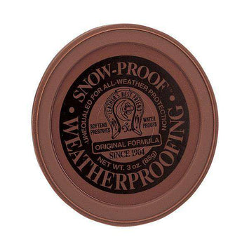 Snow Proof Weatherproofing Leather Care Waterproofing Paste, 3 oz.