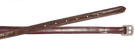 Paris Tack USA Leather Triple Layered English Stirrup Leathers - Tack Wholesale