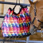 Derby Originals Drawstring Scratchless No Hardware Top Load Horse Hay Bag with New Super-Tough Bottom