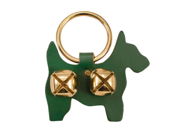 Weaver Leather Decorative Bell Door Hanger - Scottie/Westie - Tack Wholesale