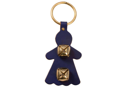 Weaver Leather Decorative Bell Door Hanger Girl Shaped - Tack Wholesale