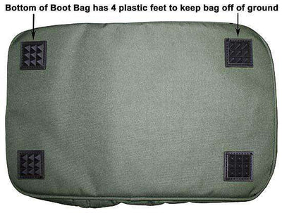 Tahoe Tack Triple Layer Padded Western Boot Carry Bag - Tack Wholesale